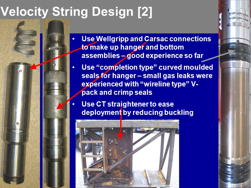 Velocity String Design [2]